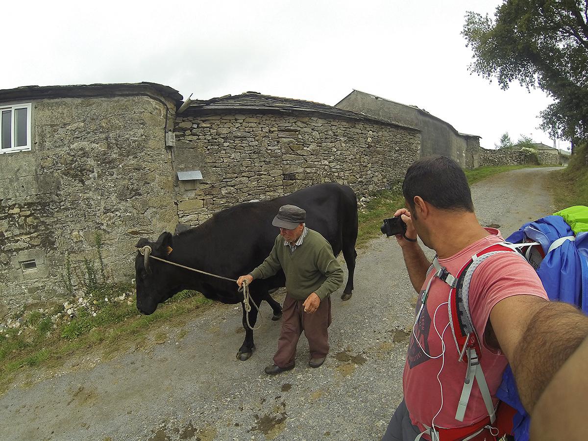 Camino primitivo. Autorretrato - Behind the lens - JOSE V. GLEZ