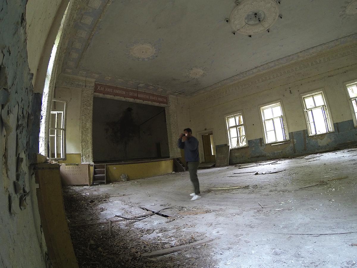 Chernobyl. Autorretrato - Behind the lens - JOSE V. GLEZ