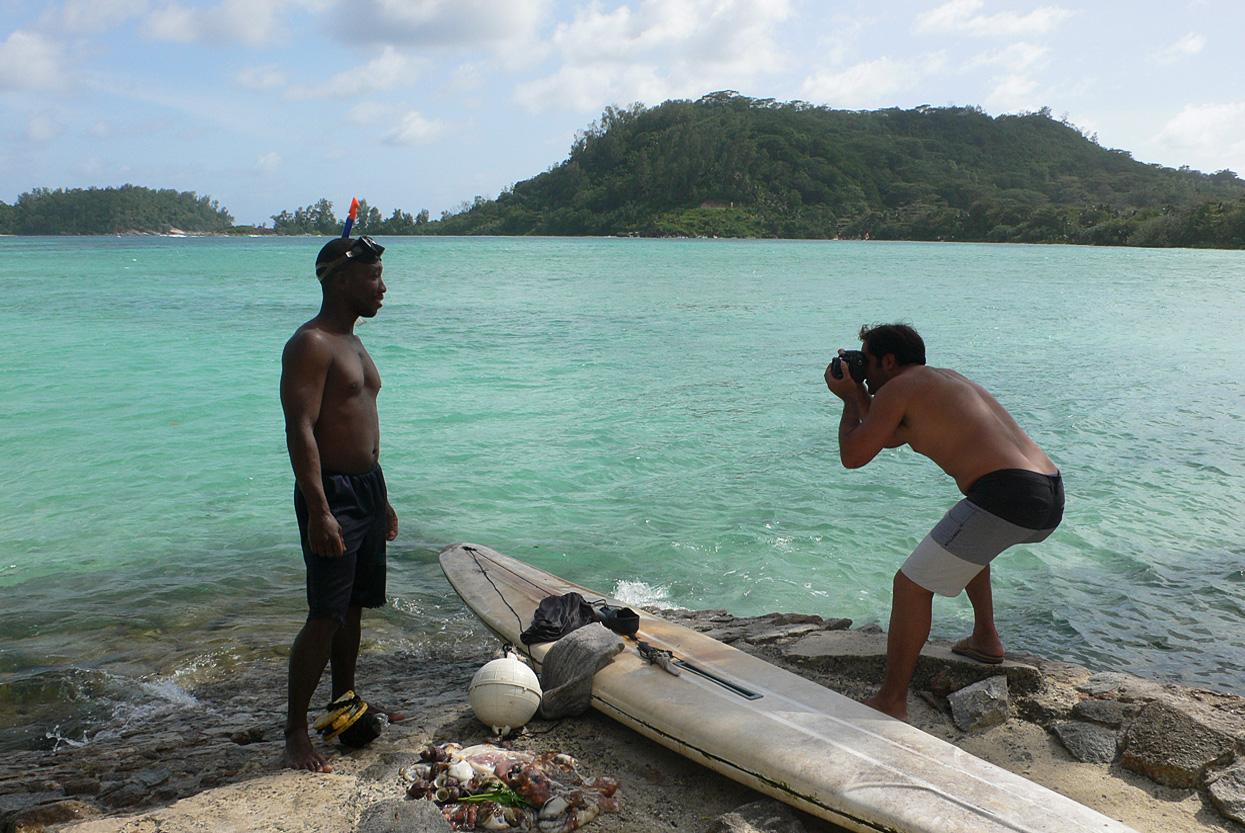 Pescador. Mahe. Seyshelles. Foto _ Mery Barrios - Behind the lens - JOSE V. GLEZ