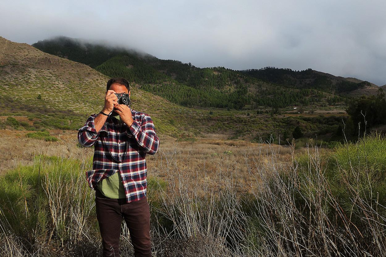 Tenerife. Autorretrato - Behind the lens - JOSE V. GLEZ