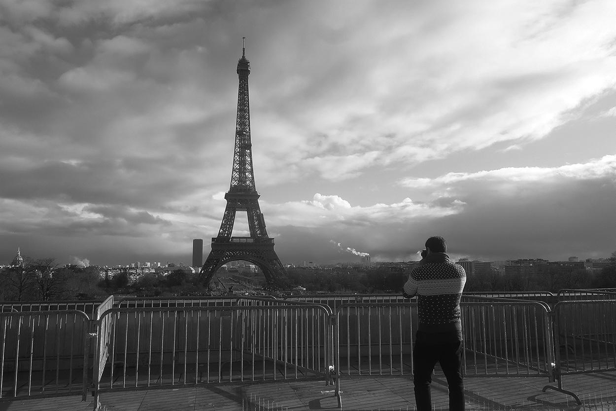 París. Autorretrato - Behind the lens - JOSE V. GLEZ