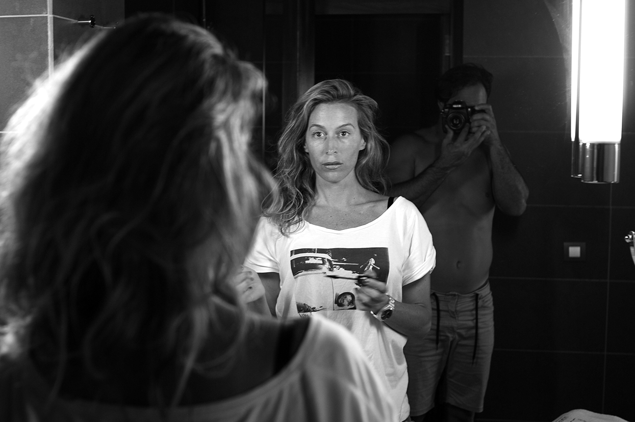 Diana Samblas. Gran Canaria. Autorretrato - Behind the lens - JOSE V. GLEZ