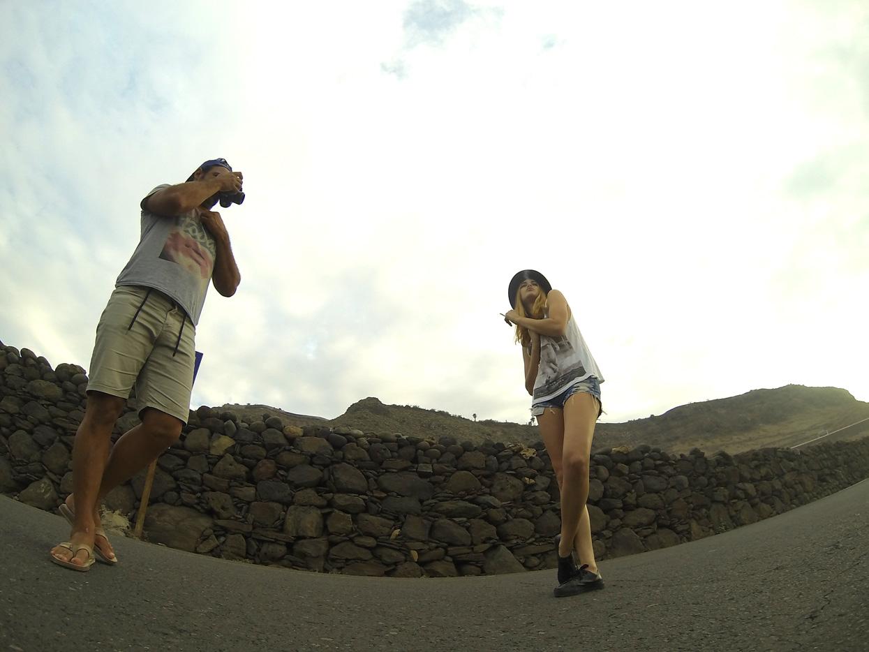 Ana Miranda. Gran Canaria. Autorretrato - Behind the lens - JOSE V. GLEZ