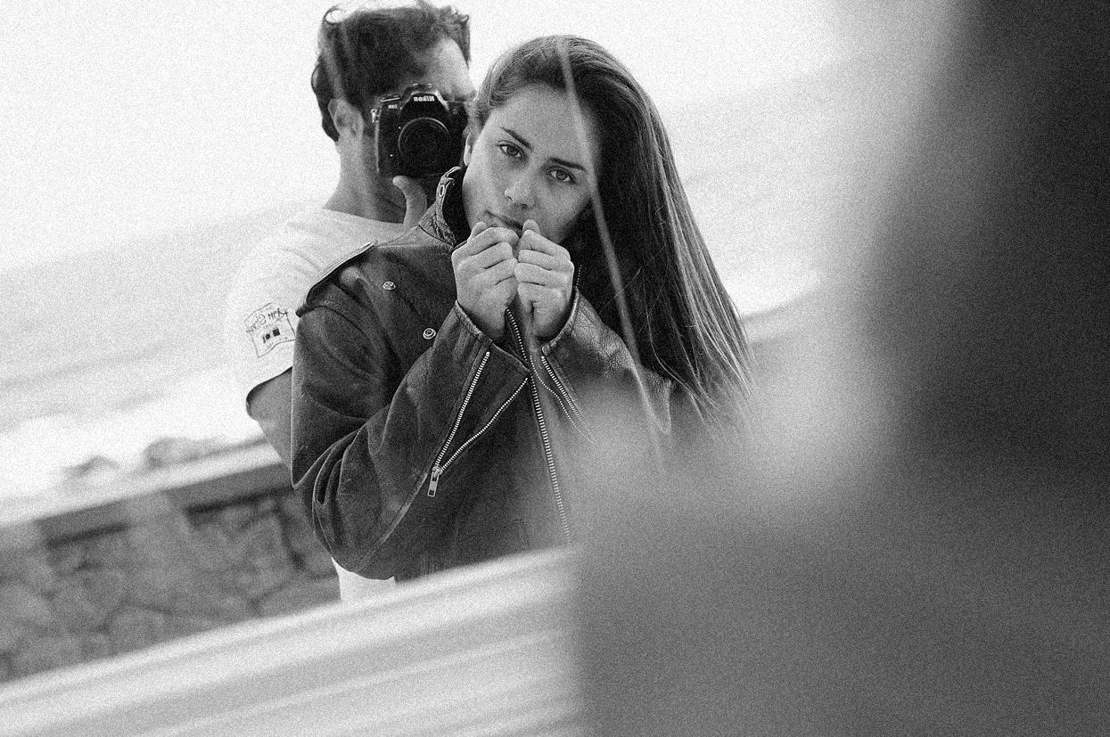 Ana Salamanca. Lanzarote. Autorretrato - Behind the lens - JOSE V. GLEZ