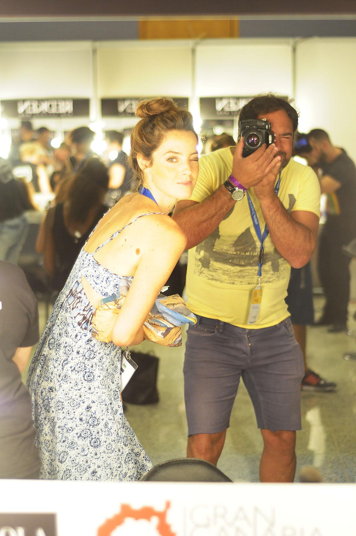 Aida Artiles. Moda Cálida. Gran Canaria. Autorretrato - Behind the lens - JOSE V. GLEZ