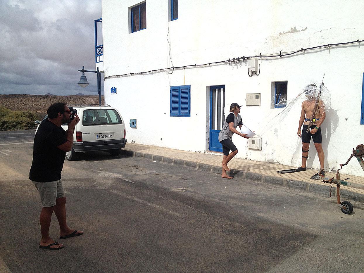 Yeray García. Lanzarote. Foto _ Marine Bauduin - Behind the lens - JOSE V. GLEZ