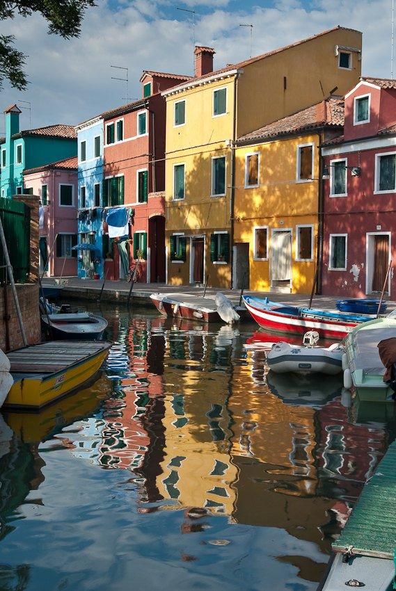 reportaje Burano (Italia) - título: