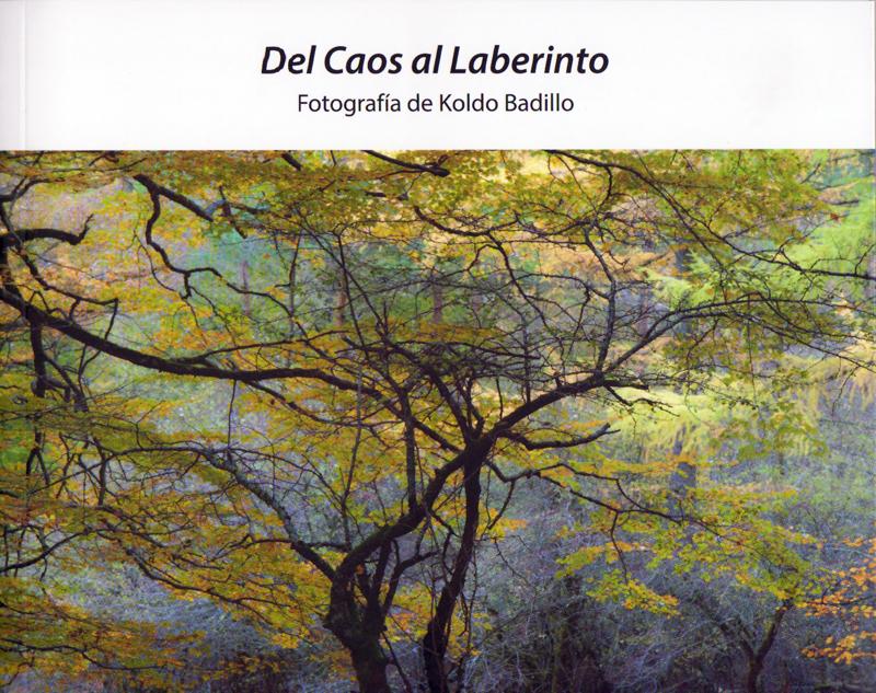 Catálogo exposición Del Caos al Laberinto - Natural Vision, photographs of Koldo Badillo