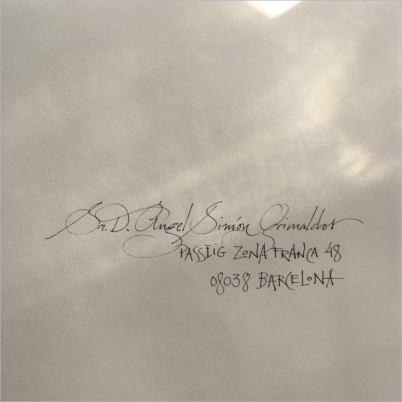 Muestrario/letras - goyovalmorisco caligrafía profesional