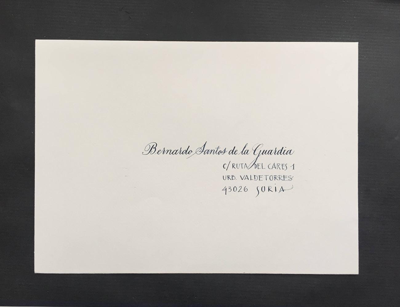 Inglesa Clásica - Goyo Valmorisco, Calígrafo profesional. Profesor de caligrafía. Diseño caligráfico.