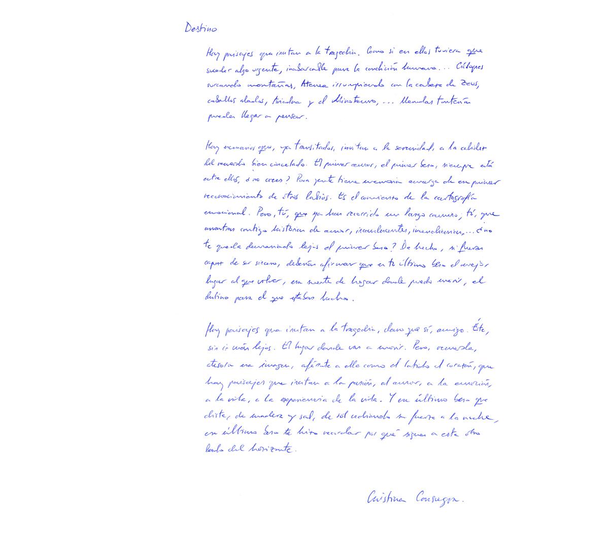 Cristina Consuegra - Como dos gotas de poesía   - Como dos gotas de poesía, fotografías de LaraBisbe