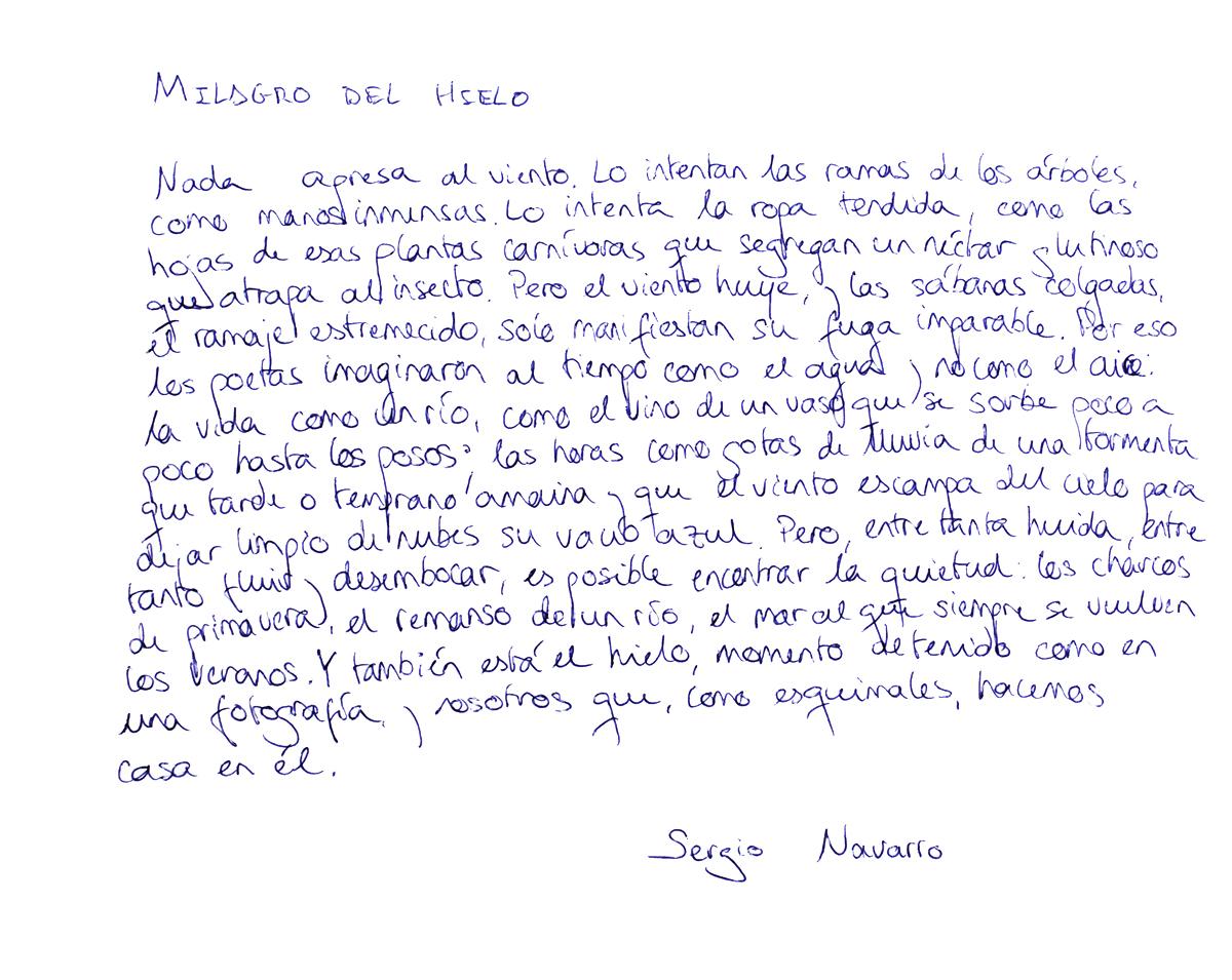 Sergio Navarro - Como dos gotas de poesía   - Como dos gotas de poesía, fotografías de LaraBisbe
