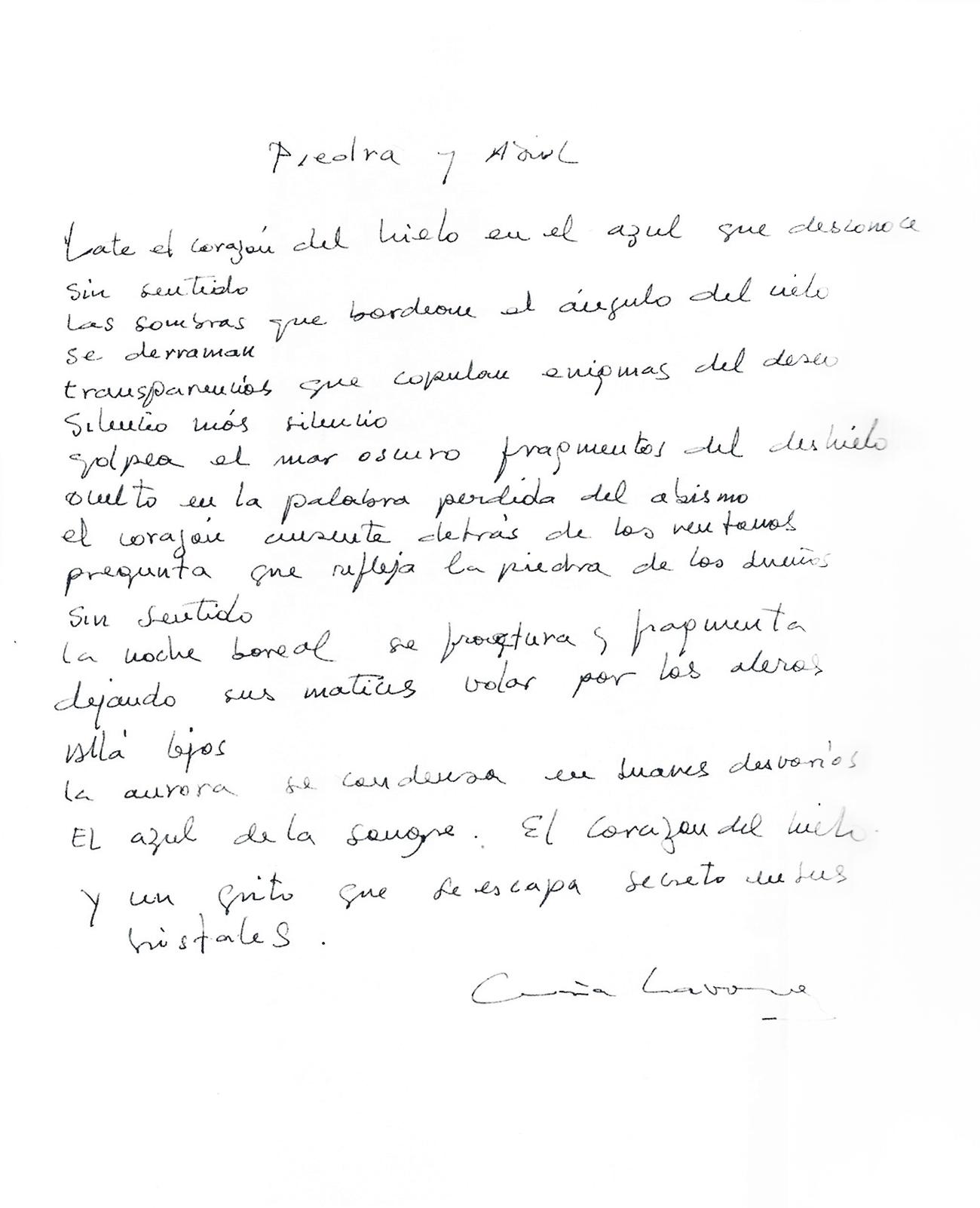 María Navarro - Como dos gotas de poesía   - Como dos gotas de poesía, fotografías de LaraBisbe