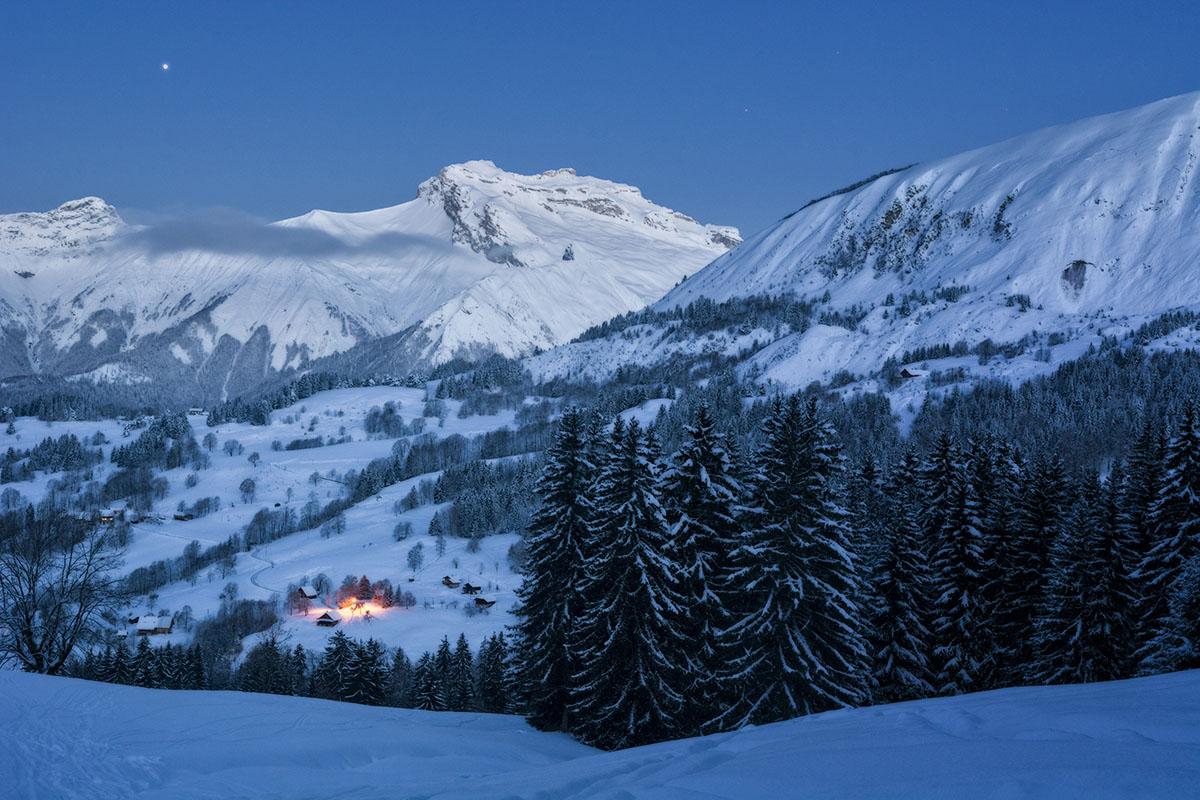 Fuego en la nieve - Archivo - Iñaki Larrea, Fotografía de naturaleza y montaña