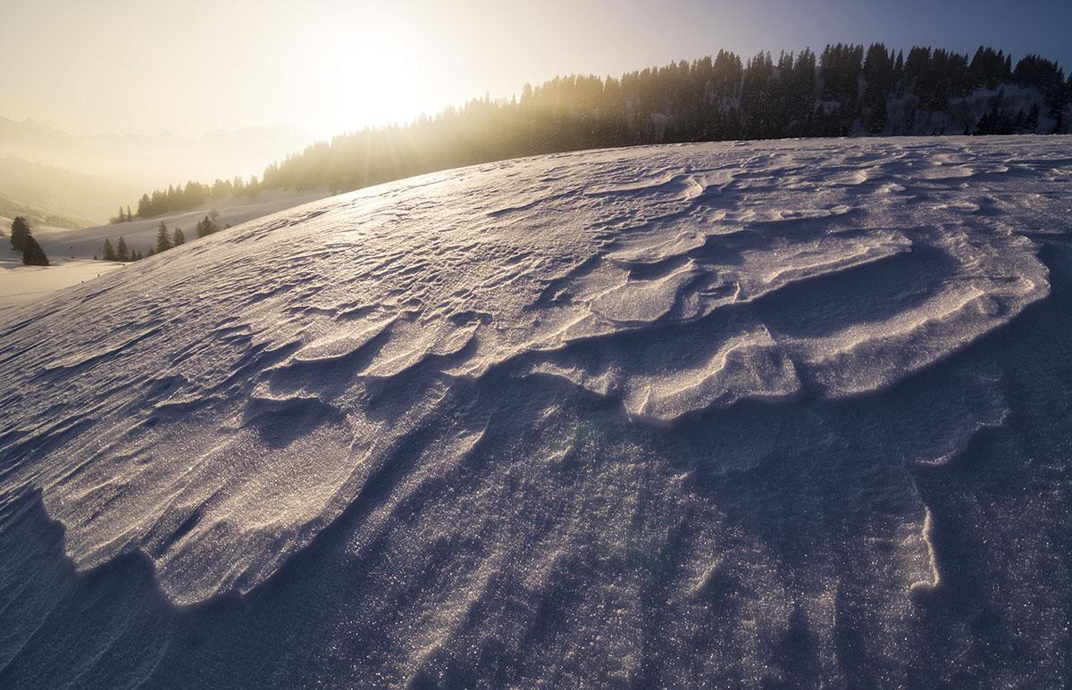 Luces sobre el hielo - Grandes espacios - Fotografia Larrea. Paisajes y grandes espacios