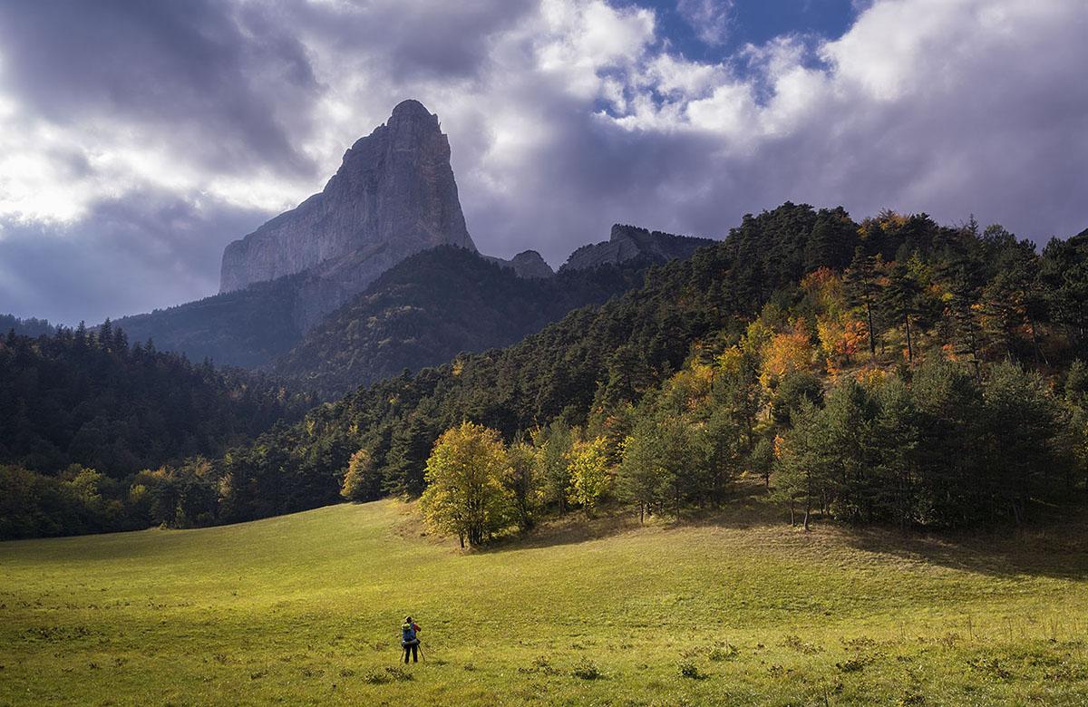 Admirando al gigante - Deportes y aventuras - Inaki Larrea, Nature and mountains Photography