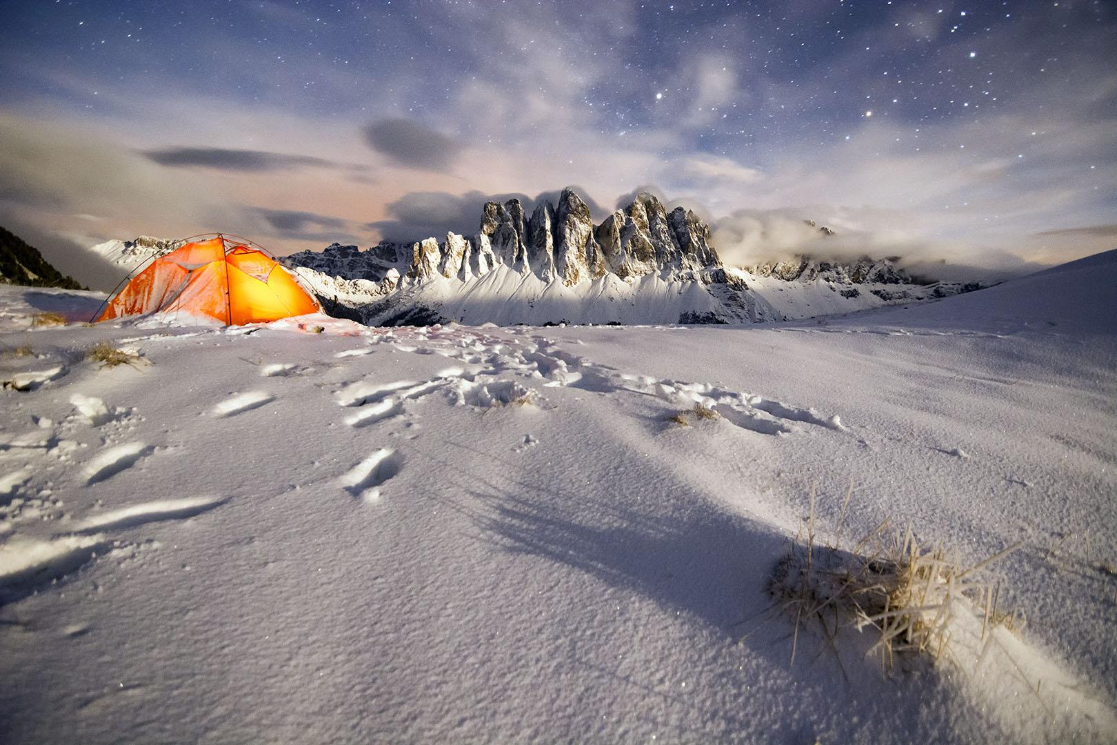 Arropados por la luna - Deportes y aventuras - Inaki Larrea, Nature and mountains Photography