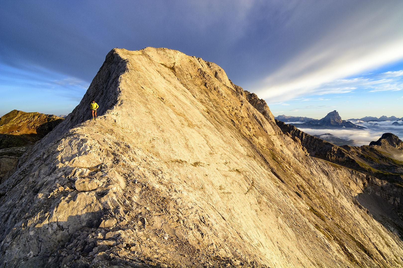 Trail al filo del abismo - Deportes y aventuras - Iñaki Larrea, Fotografía de naturaleza y montaña