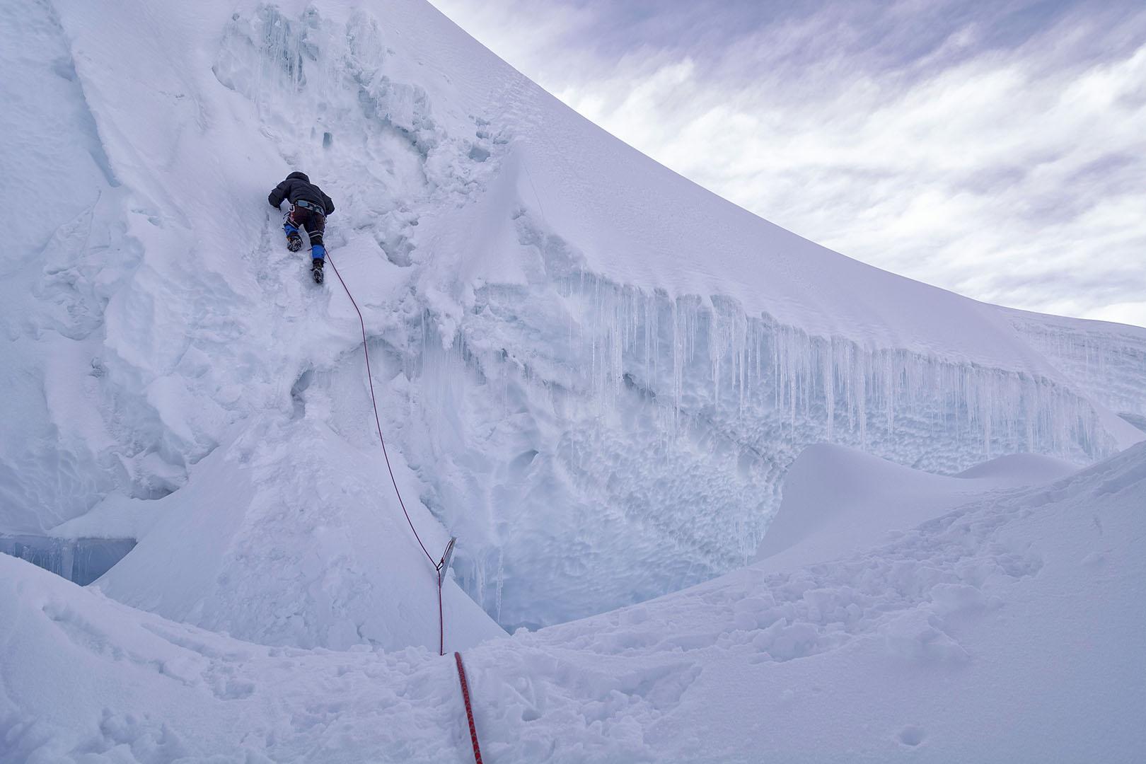 Descendiendo las murallas - Deportes y aventuras - Iñaki Larrea, Fotografía de naturaleza y montaña