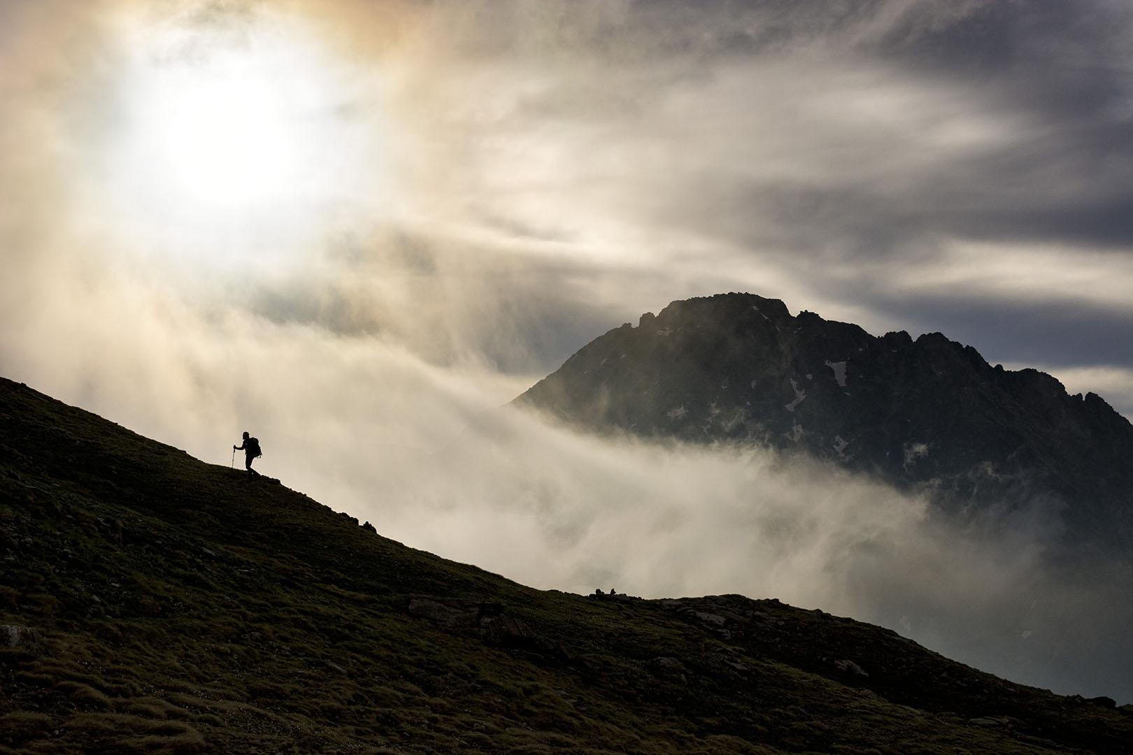 caminando entre las nubes - Deportes y aventuras - Iñaki Larrea, Fotografía de naturaleza y montaña