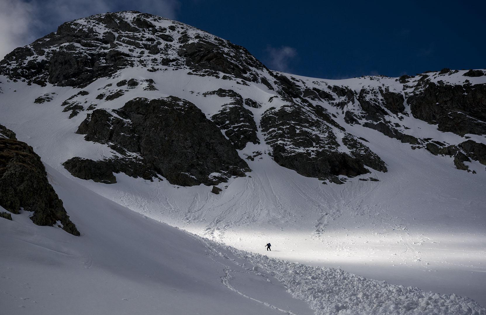 hacia la luz - Deportes y aventuras - Inaki Larrea, Nature and mountains Photography