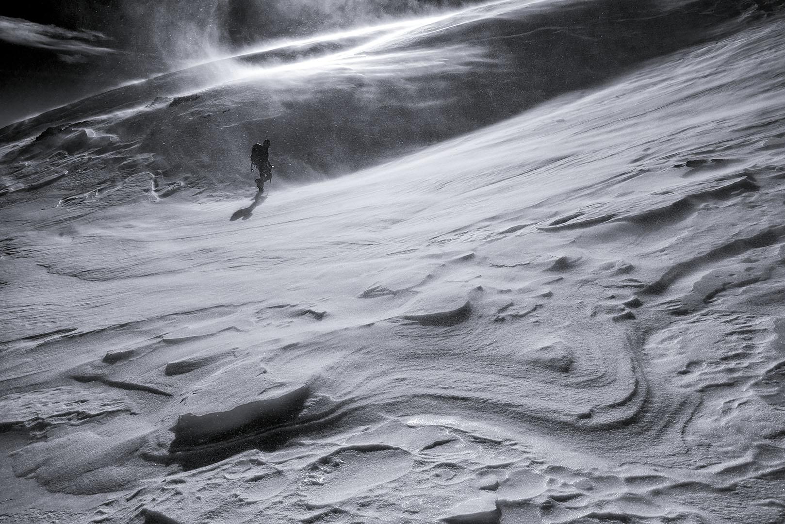 Sintiendo el viento, Pirineos. - Deportes y aventuras - Iñaki Larrea, Fotografía de naturaleza y montaña