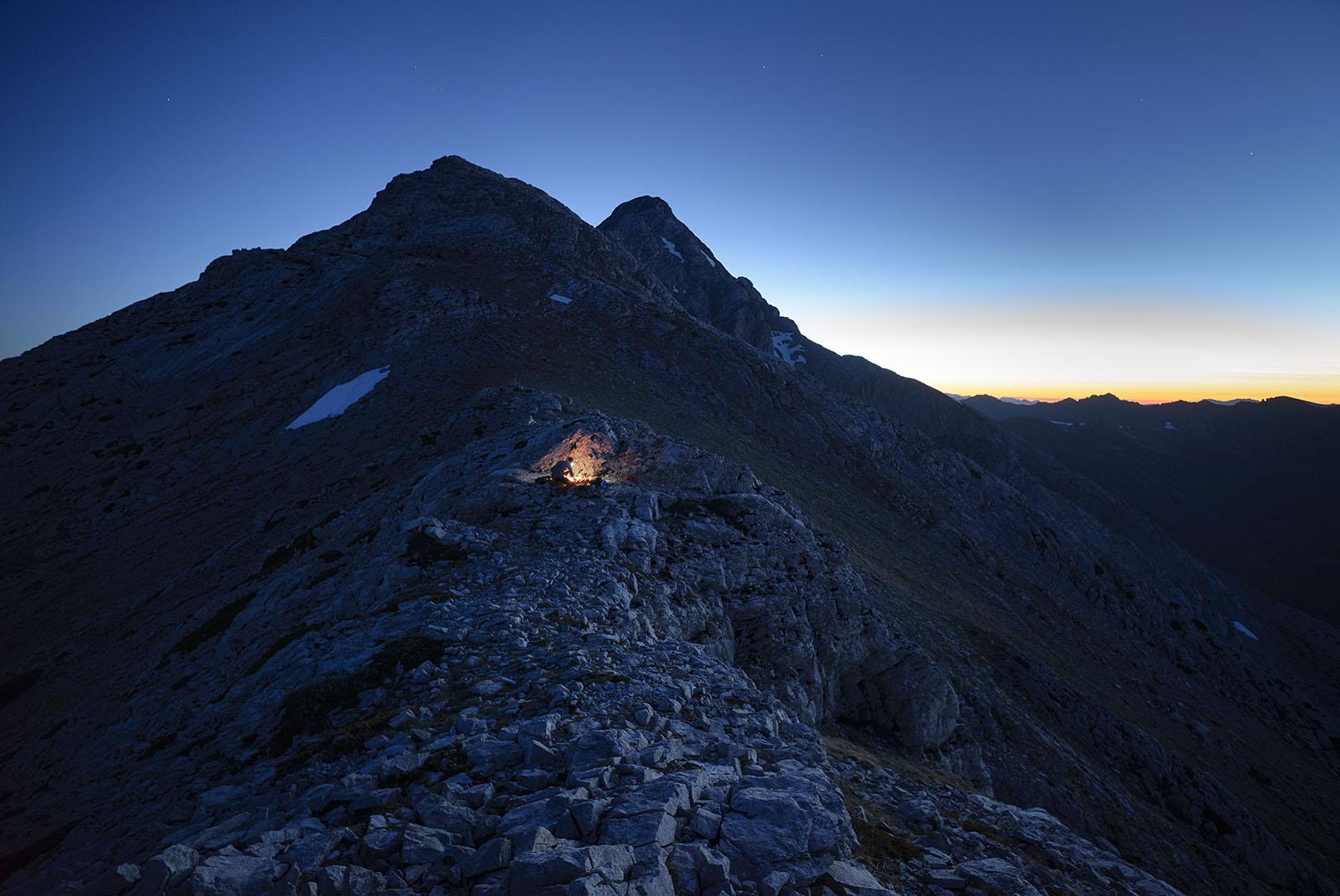 Buscando cobijo - Deportes y aventuras - Iñaki Larrea, Fotografía de naturaleza y montaña