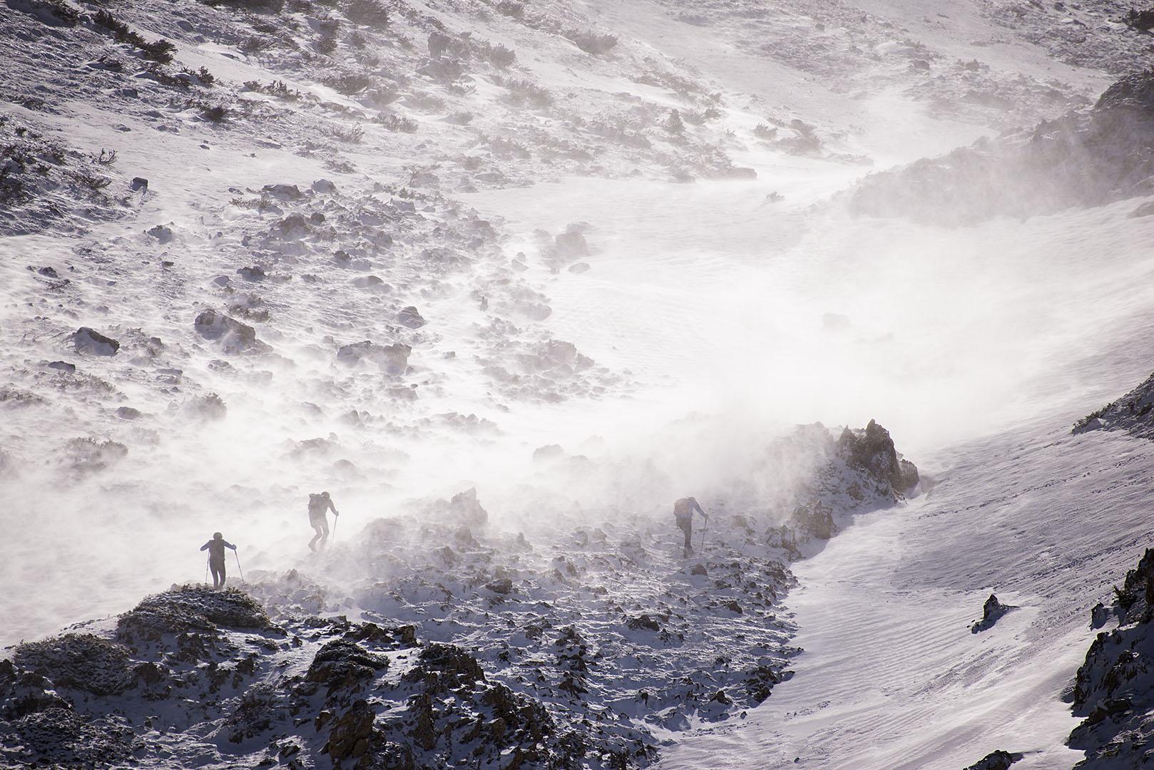 La ventisca - Deportes y aventuras - Inaki Larrea, Nature and mountains Photography