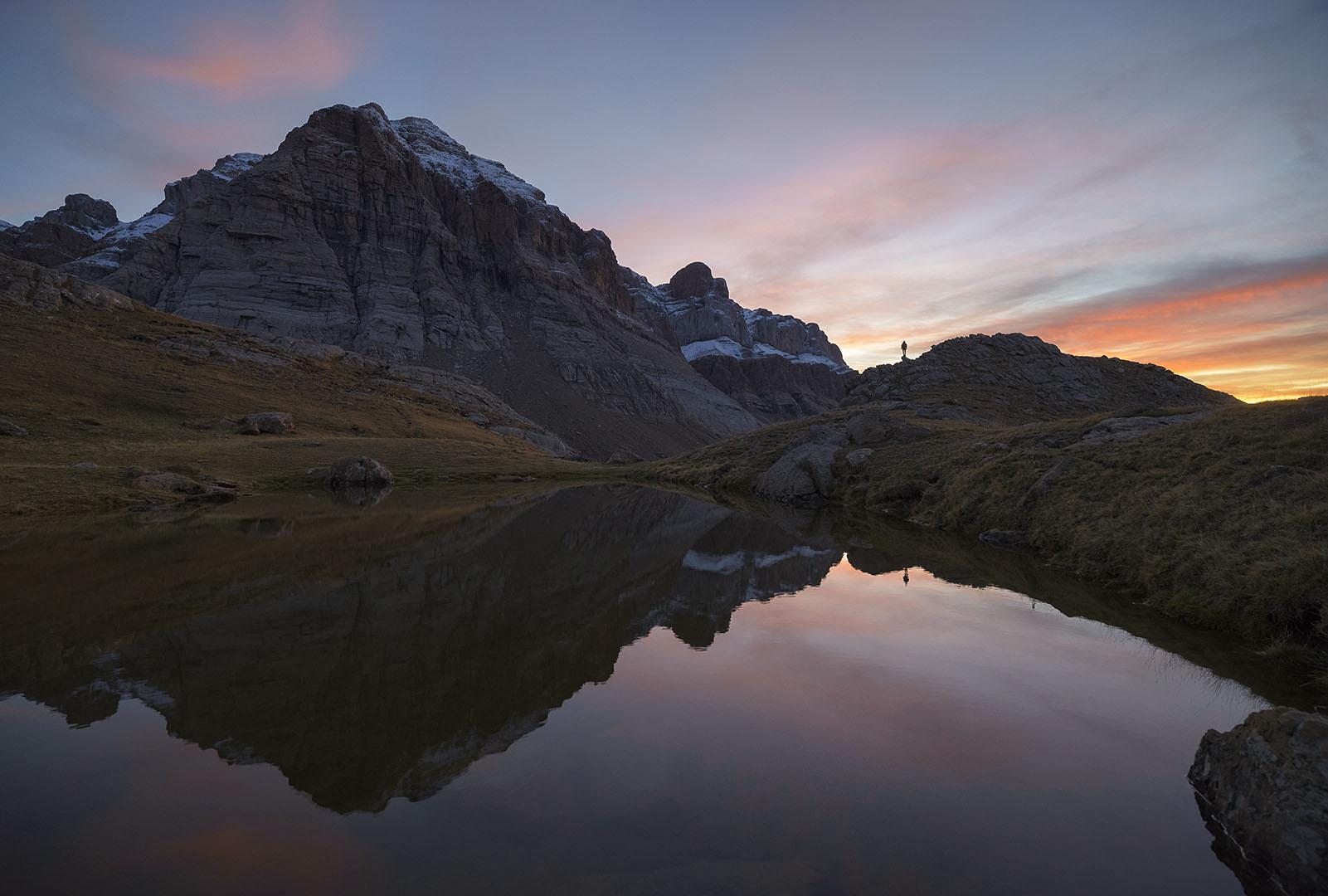 Reflejos al atardecer - Deportes y aventuras - Inaki Larrea, Nature and mountains Photography