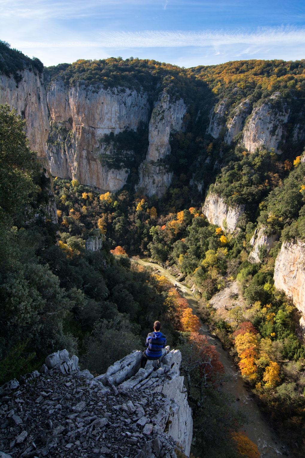 Observando el abismo - Archivo - Iñaki Larrea, Fotografía de naturaleza y montaña