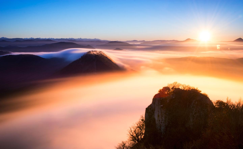 Pinceladas de nubes - Archivo - Iñaki Larrea, Fotografía de naturaleza y montaña