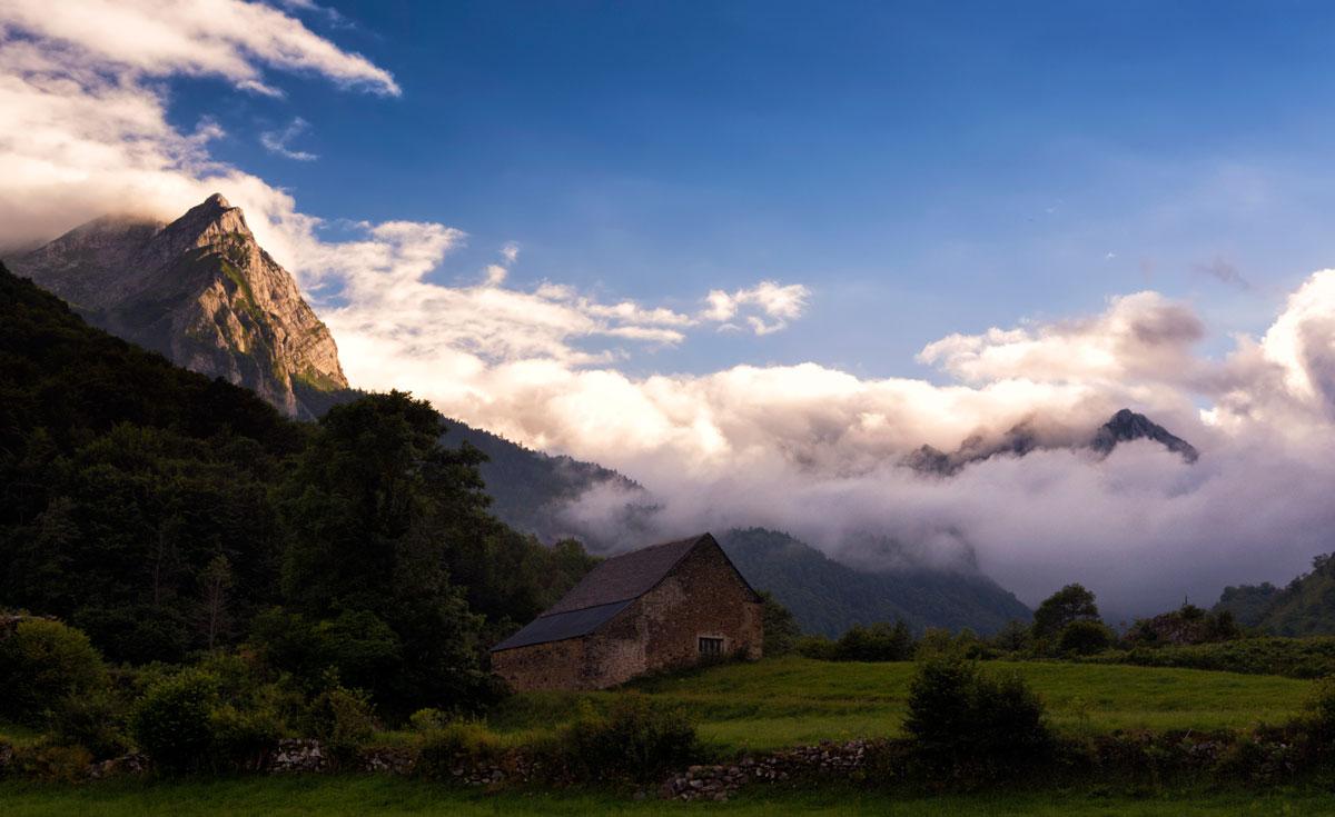 Valle pirenaico - Archivo - Iñaki Larrea, Fotografía de naturaleza y montaña