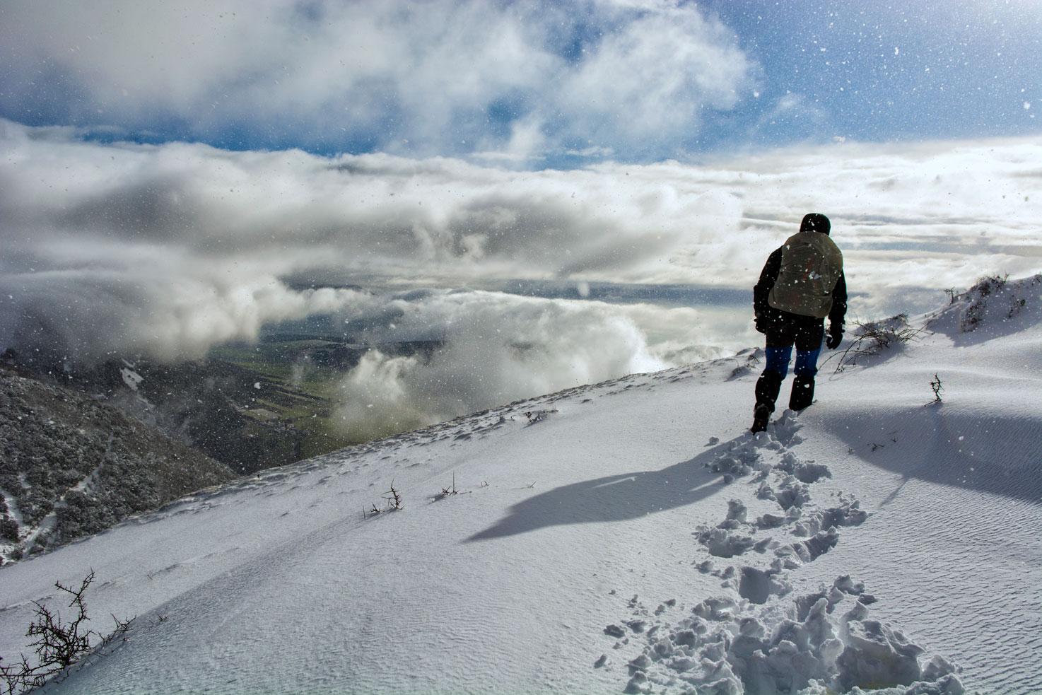 Travesía en la nieve - Archivo - Iñaki Larrea, Fotografía de naturaleza y montaña