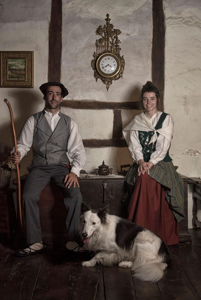 Retrato rural - Archivo - Iñaki Larrea, Fotografía de naturaleza y montaña