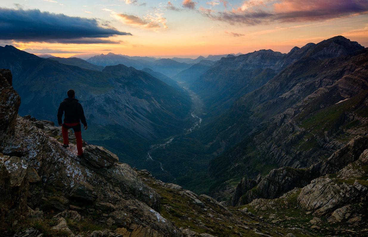 Desde el balcón - Deportes y aventuras - Inaki Larrea, Nature and mountains Photography