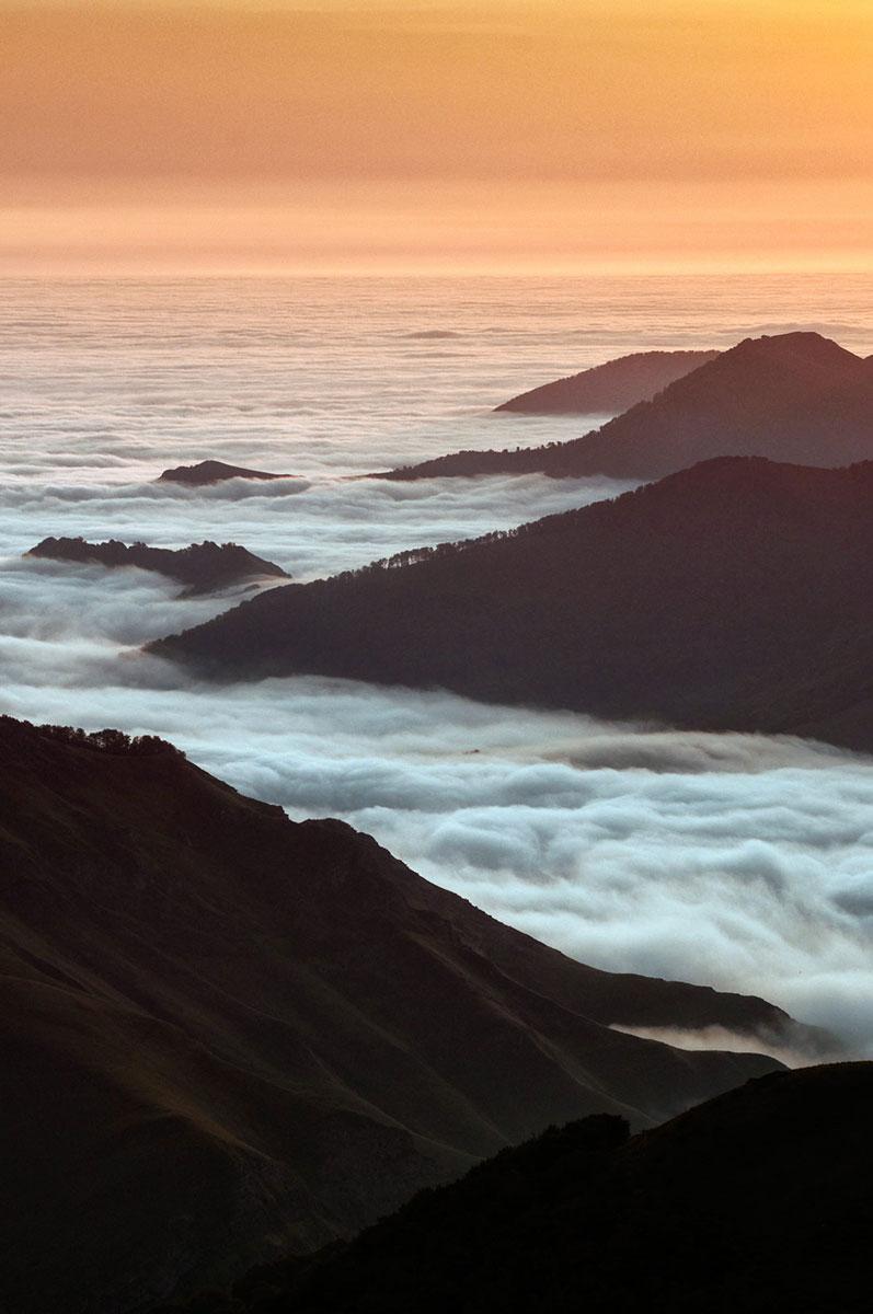 mar de nubes 2 - Archivo - Iñaki Larrea, Fotografía de naturaleza y montaña