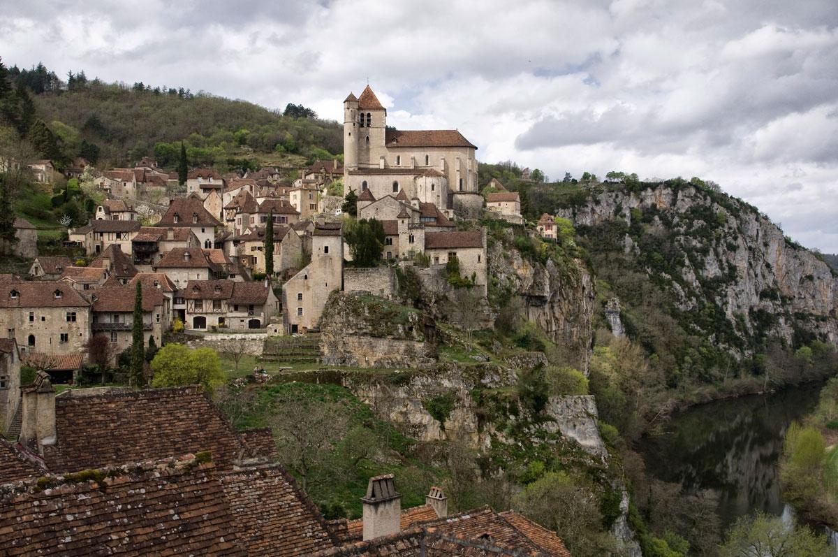Saint cirq Lapopie - Archivo - Iñaki Larrea, Fotografía de naturaleza y montaña