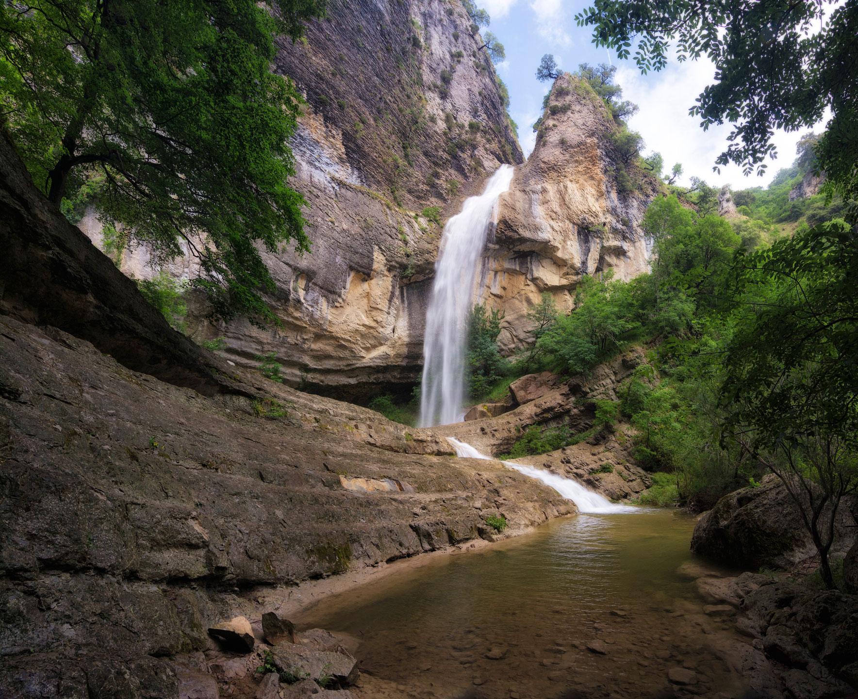 Lo profundo del barranco, Artazul. - Archivo - Iñaki Larrea, Fotografía de naturaleza y montaña