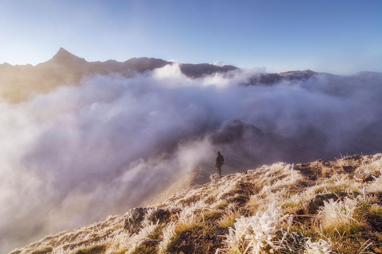 Comienza el frío, Larra. - Archivo - Iñaki Larrea, Fotografía de naturaleza y montaña