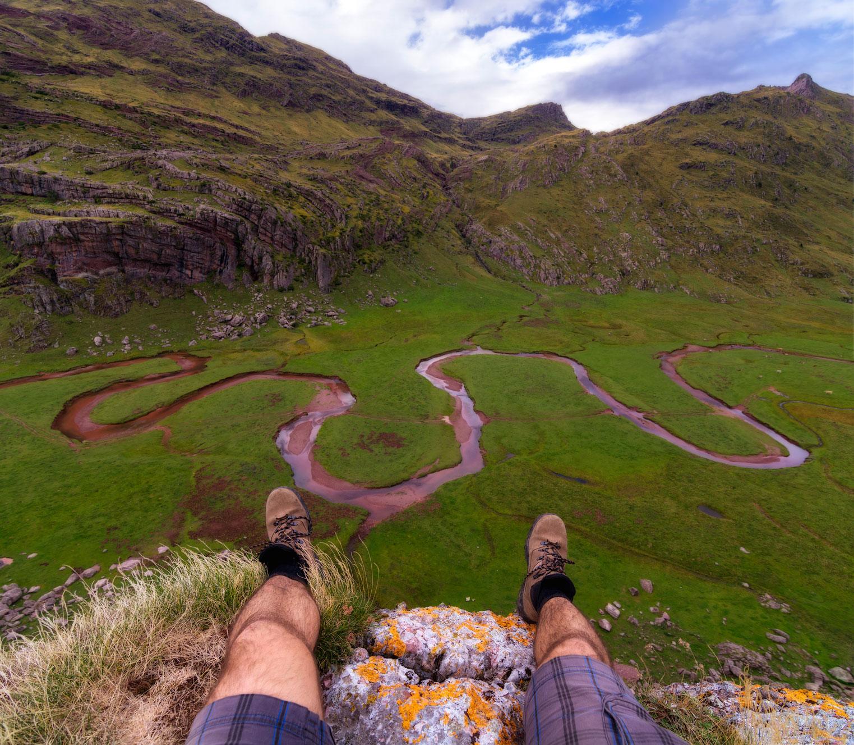 Aguastuertas a mis pies, Hecho, Huesca. - Deportes y aventuras - Iñaki Larrea, Fotografía de naturaleza y montaña
