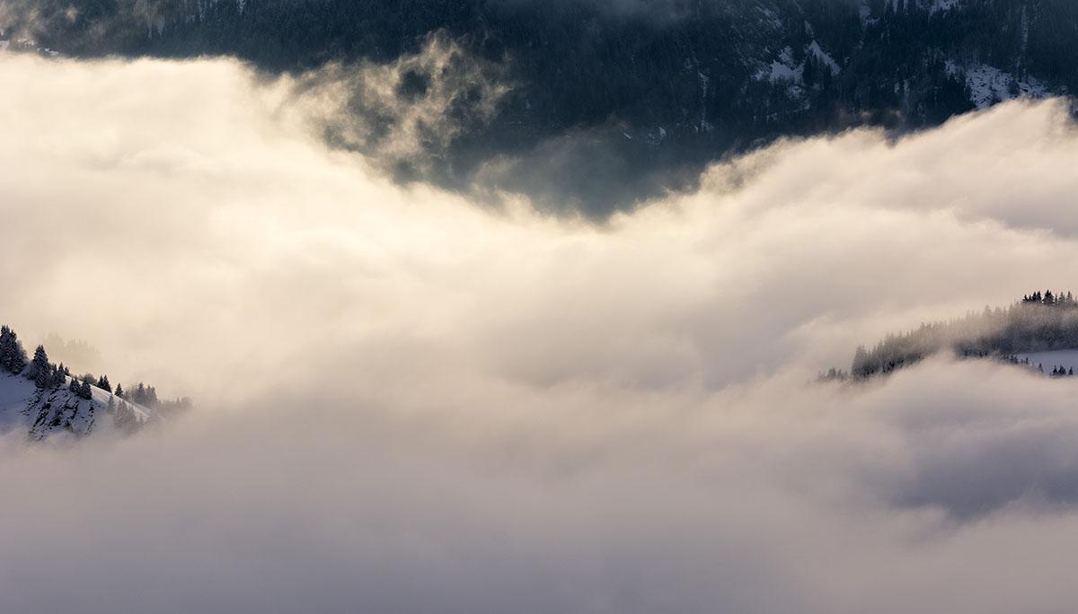 Olas de fuego, Alpes. - Grandes espacios - Fotografia Larrea. Paisajes y grandes espacios