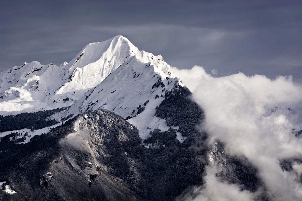 Monte Charvin, Alpes. - Archivo - Iñaki Larrea, Fotografía de naturaleza y montaña
