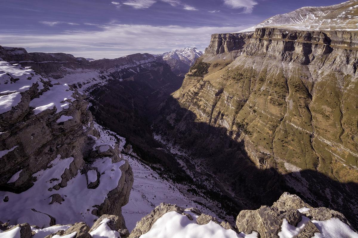 Desde las alturas, Ordesa. - Archivo - Iñaki Larrea, Fotografía de naturaleza y montaña