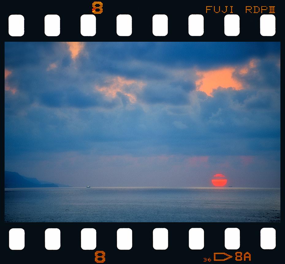 Puesta de sol en Itzurun - Zumaia. - Diapositivas 2 - Luis Llavori , Fotografía