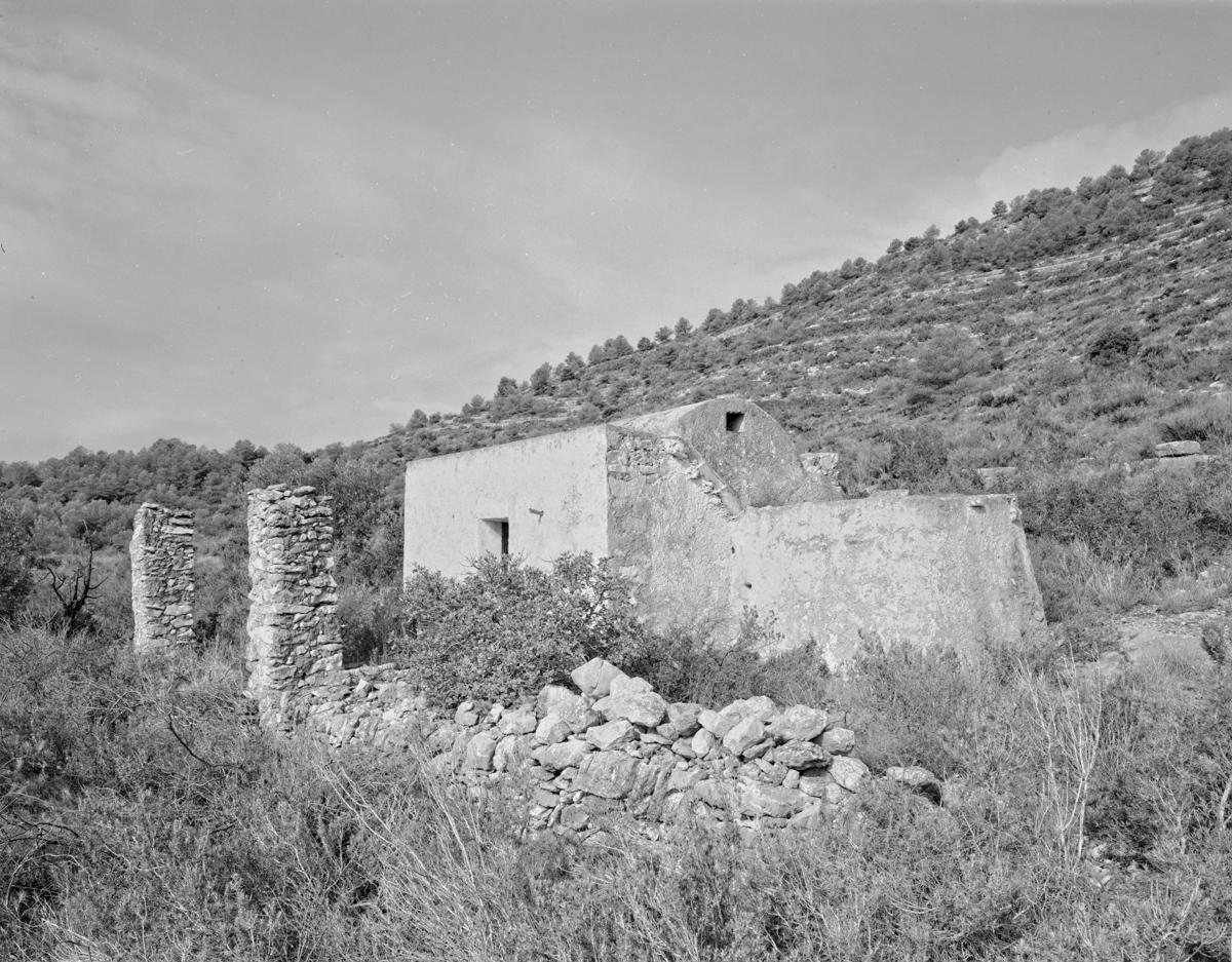 Irta. Caseta de volta vora l'Ull de Bou - Les Casetes de Volta del Baix Maestrat - LLUIS IBAÑEZ MELIA, Geografies als Ports Maestrat