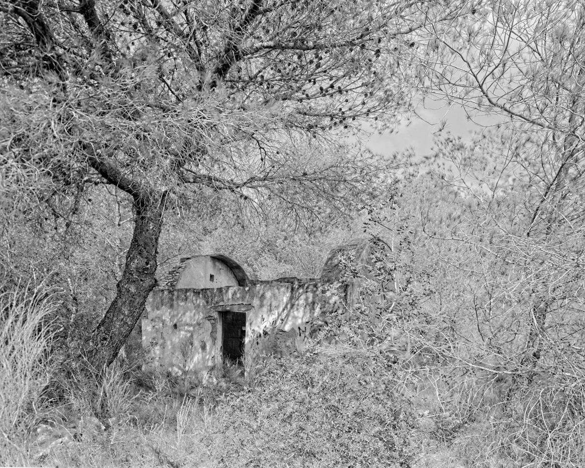 Irta. Caseta de volta vora la pista de Ribamar - Les Casetes de Volta del Baix Maestrat, habitatges temporers - LLUIS IBAÑEZ MELIA, Geografies als Ports Maestrat
