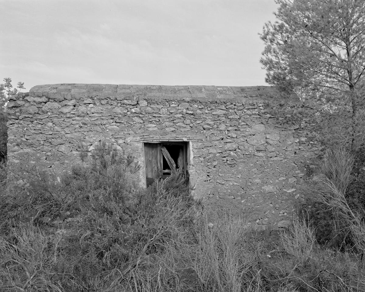 Irta. Caseta de volta al Pla de l'Argilaga - Les Casetes de Volta del Baix Maestrat - LLUIS IBAÑEZ MELIA, Geografies als Ports Maestrat
