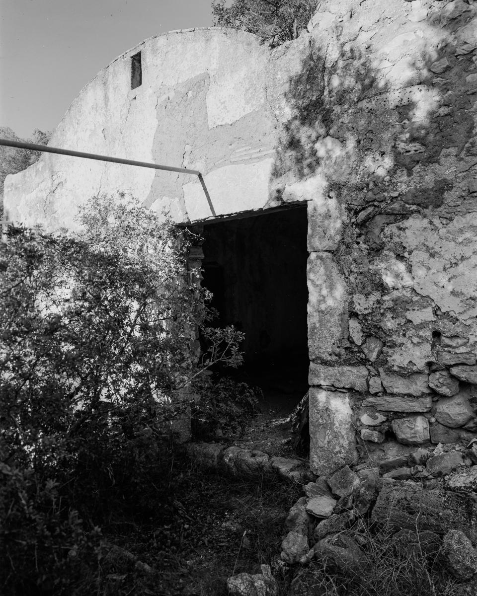 Irta. Corral de Burra. - Les Casetes de Volta del Baix Maestrat - LLUIS IBAÑEZ MELIA, Geografies als Ports Maestrat