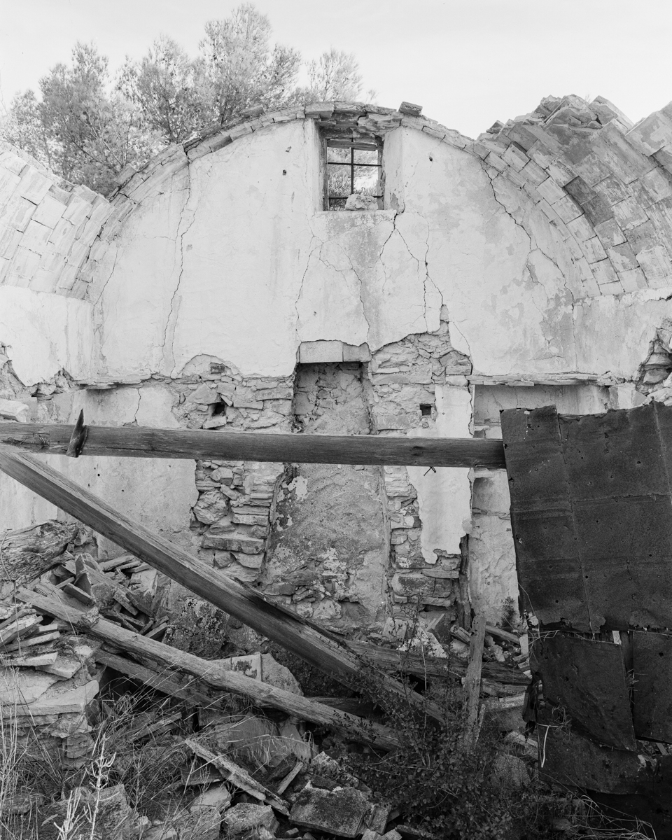 Irta. Caseta de volta de Dalt vora la Torra  - Les Casetes de Volta del Baix Maestrat - LLUIS IBAÑEZ MELIA, Geografies als Ports Maestrat