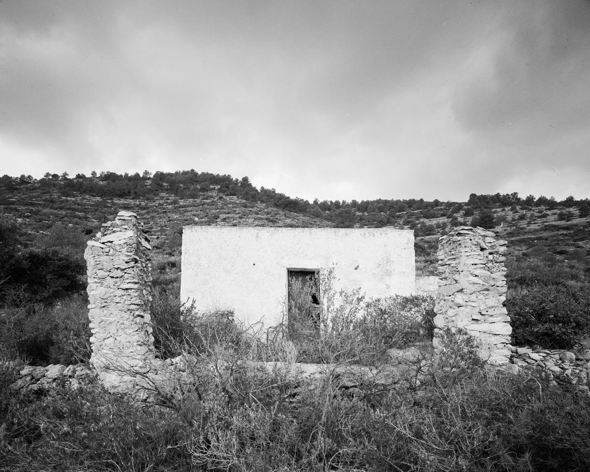 Irta. Caseta de volta vora l'Ull de Bou - Les Casetes de Volta del Baix Maestrat, habitatges temporers - LLUIS IBAÑEZ MELIA, Geografies als Ports Maestrat